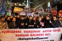 RUSYA - Alperen Ocakları'ndan Taksim'de Protesto