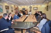 TÜZÜK DEĞİŞİKLİĞİ - ALTİD Yeni Yönetimi Başkan Yücel'i Ziyaret Etti