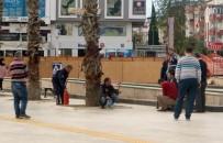 SÖNDÜRME TÜPÜ - Antalya'da İşsiz Vatandaşın Benzinli İntihar Girişimi