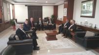 ESNAF VE SANATKARLAR ODALARı BIRLIĞI - Aydın Esnafından Emniyet Müdürü Baştuğ'a Ziyaret