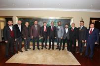 İSMAIL KURT - Başkan Köşker, Gebze Rizeliler Derneğini Ağırladı