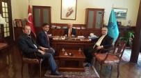 RESTORASYON - Başkan Yalçın Ankara'da