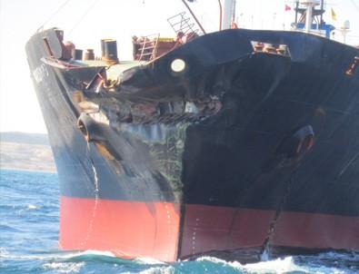 Çanakkale Boğazı'nda petrol tankerleri çarpıştı