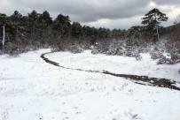 BALABAN - Çanakkale'de Kar Yağışı