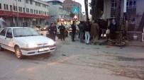 ZEYTINLI - Çorum'da Trafik Kazası Açıklaması 1 Yaralı