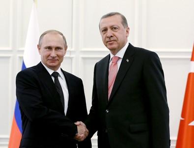 Erdoğan ve Putin'den 3.görüşme
