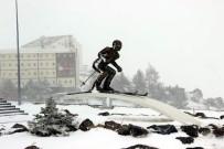 KIŞ TURİZMİ - Erciyes'te Kar Sevinci