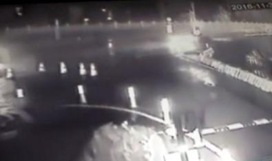 Erdal Tosun'un öldüğü kaza kamerada!