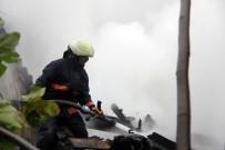 GÖRGÜ TANIĞI - Kağıthane'de Gecekondu Yangını