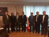 NECMİ ÇELİK - Kamu Hastaneleri Genel Sekreteri Erdem'e 'Hayırlı Olsun' Ziyaretleri
