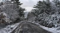 BALABAN - Kar Yağışı Kartpostallık Görüntüler Oluşturdu