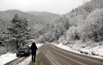 YAKIN TAKİP - Karabük'te Kar Yağışı