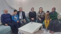 MURAT DURU - Kaymakam Duru Şehit Kocatürk'ün Ailesini Ziyaret Etti