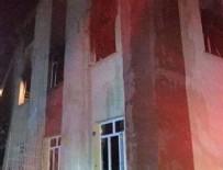 Kız yurdundaki yangın elektrik panosundan çıktı