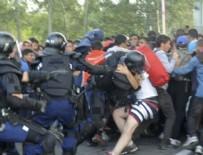 TERÖR EYLEMİ - Macar polisine taş atan Suriyeliye 10 yıl hapis