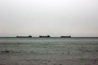 MÜREFTE - Marmara Denizi'nde Poyraz Etkisini Sürdürüyor