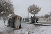 DOĞU ANADOLU - Muş'ta Kar Yağışı