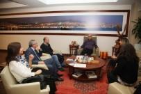 ALTıNOK ÖZ - Öğretmenlerden Başkan Altınok Öz'e Ziyaret