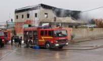 CEP TELEFONU - Plastik Fabrikasında Korkutan Yangın