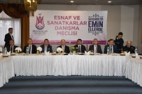İSMAIL ÇORUMLUOĞLU - Şehzadeler Esnaf Danışma Meclisi Toplandı