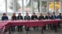 ÜST GEÇİT - Simav Kaymakamı Halim, Beyce Köyünde Halk Toplantısı Yaptı
