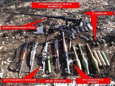 TSK: Cudi Dağı'nda 14 terörist etkisiz hale getirildi