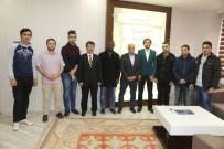 ÖĞRENCİ SAYISI - Uluslararası Öğrenci Topluluğundan Başkan Çalışkan'a Ziyaret