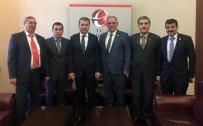 AK Parti Mahmudiye İlçe Başkanlığından Vali Çelik'e Ziyaret