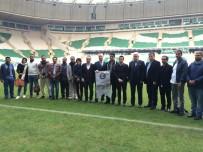 TİMSAH - Arap İş Adamları Timsah Arena'yı İnceledi