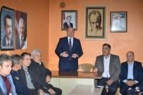 ESKIGEDIZ - Başkan Ali Çetinbaş Eskigediz Beldesi'ni Ziyaret Etti