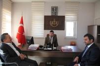 Başkan Tutal'dan Adliyeye Ziyaret