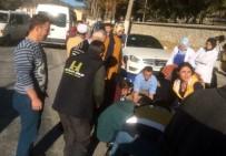 SARAYCıK - Bozüyük'te Trafik Kazası Açıklaması 1 Yaralı
