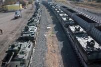 Sınıra İkinci Asker Ve Zırhlı Araç Sevkiyatı Başlıyor