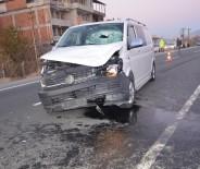 SULUCA - Tosya'da Minibüsün Çarptığı 1 Kişi Hayatını Kaybetti