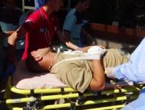HAVAN MERMİSİ - DAEŞ'in havan saldırısında 1 şehit 2 yaralı