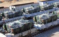 Zırhlı Araçlar Trenlere Yüklendi!