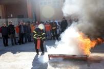 YANGIN TATBİKATI - Bilecik Belediyesinden Yangın Tatbikatı