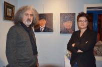 FANTEZI - Çivilerle Kazılarak Yapılan Resimler Eskişehir'de Görücüye Çıktı