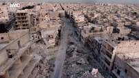 HAYALET - Halep'teki Yıkım Havadan Görüntülendi