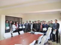 Karaman'da Kontrol Görevlisi Kursunu Başarıyla Bitirenlere Belgeleri Verildi