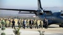 ŞEHİT YÜZBAŞI - Şehit Yüzbaşı Alper Kocaman'ın Cenazesi Memleketine Uğurlandı
