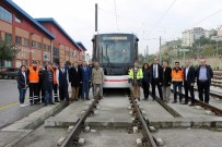 YERLİ TRAMVAY - Yerli Tramvay Hizmet Vermeye Başladı