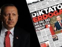 İKTIDAR - Alman gazeteden küstah 'Erdoğan' manşeti