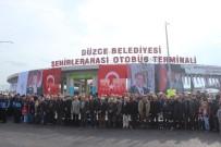 OTOBÜS TERMİNALİ - Bakan Faruk Özlü Düzce Şehirler Arası Otobüs Terminalinin Açılışını Yaptı