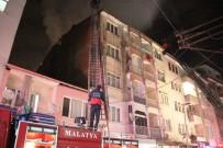 MUSTAFAPAŞA - Çatı Yangını Güçlükle Söndürülebildi
