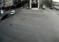 MOBESE - Kocaeli'nde Yaşanan Kazalar Mobese Kameralarına Yansıdı