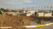 ÇANAKKALE DESTANI - Altıeylül'de Anıt Çalışması Tüm Hızıyla Sürüyor