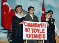 MÜZİK ÖĞRETMENİ - Bahçeşehir Anadolu Lisesi Öğrencileri Ata'sını Andı