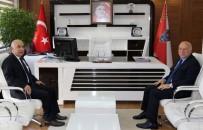 EMNIYET MÜDÜRLERI KARARNAMESI - Başkan Sekmen'den İl Emniyet Müdürü Aslan'a Ziyaret