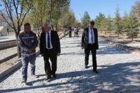 YAVUZ ÖZKAN - İncesu Belediyesi Yavuz Özkan Stadı Çevresinde Parke Çalışmasına Başladı